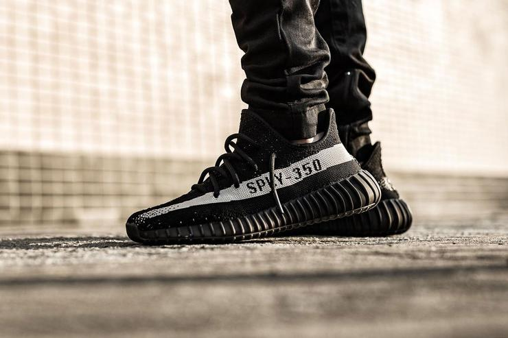 store list for the black white adidas yeezy boost 350 v2 release
