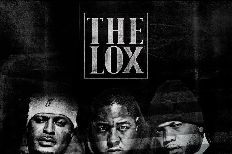 """album cover for The Lox """"Filthy America"""""""