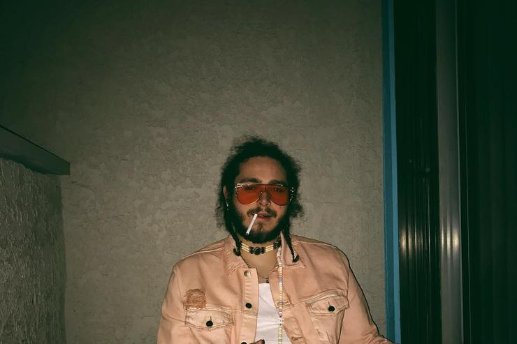 Post Malone chilling