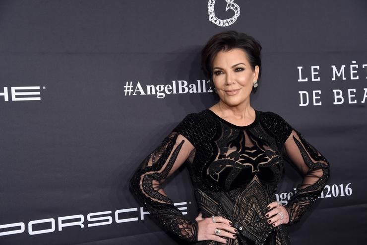 Kris Jenner at Angel Ball