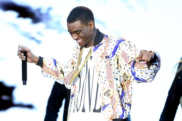 Soulja Boy at Streamy awards