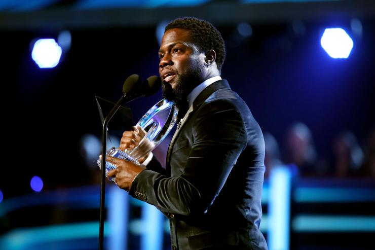 Kevin Hart at Peoples Choice Awards