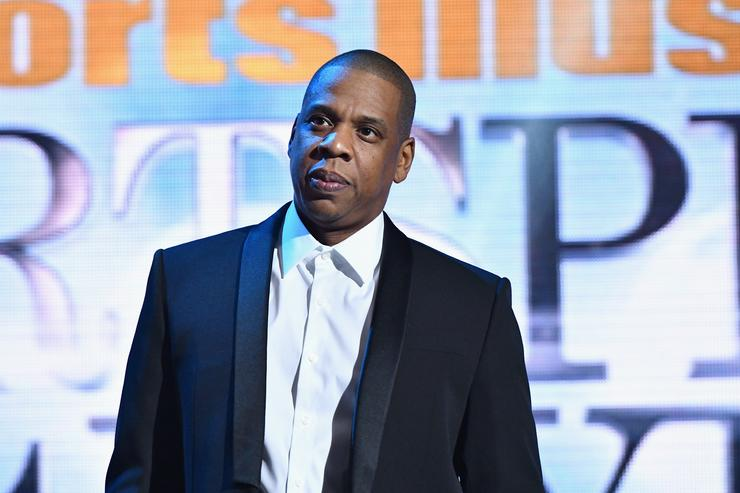 Jay Z speaks onstage the Sports Illustrated Sportsperson of the Year Ceremony 2016 at Barclays Center of Brooklyn on December 12, 2016 in New York City.