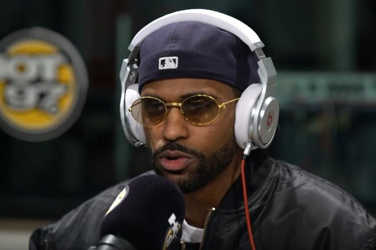Big Sean at hot 97