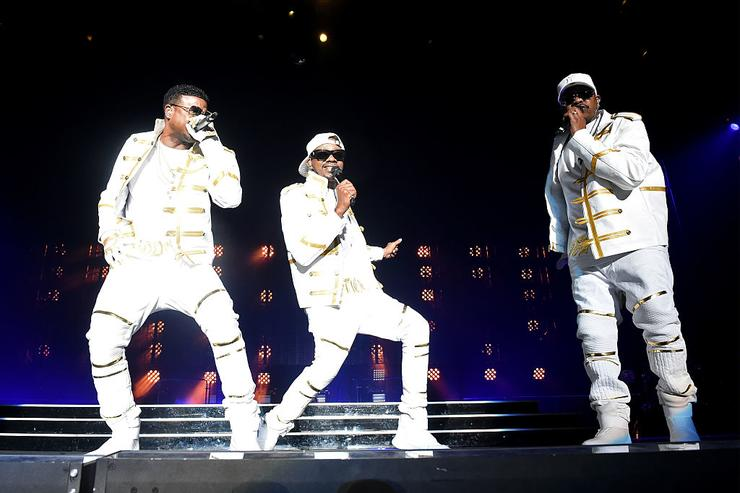 Jodeci perform onstage during the Bad Boy Family Reunion Tour at The Forum on October 4, 2016 in Inglewood, California.