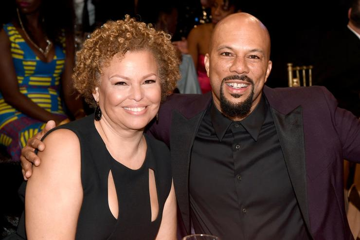 Chairman and Chief Executive Officer of BET Debra Lee (L) and actor Common attend BET Presents the American Black Film Festival Honors on February 17, 2017 in Beverly Hills, California.