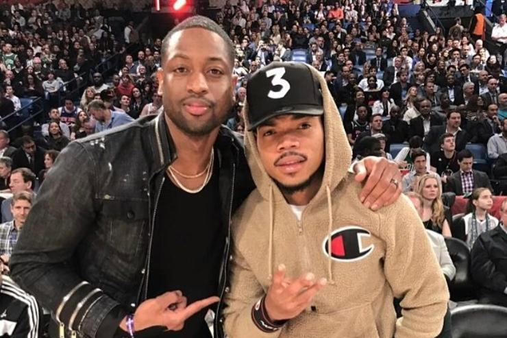 Chance The Rapper x Dwyane Wade