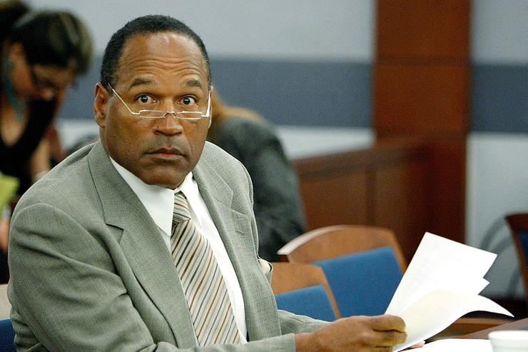 O.J. Simpson appears in court for a preliminary hearing on charges which include kidnapping, assault and burglary at the Clark County Regional Justice Center November 8, 2007 in Las Vegas, Nevada.