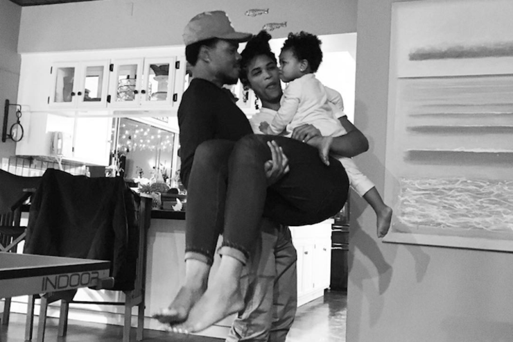 Chance The Rapper & baby mama