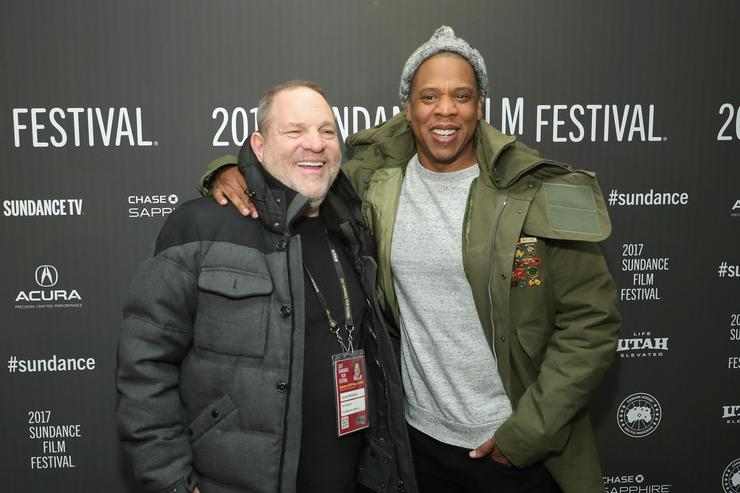 Harvey Weinstein & Jay Z