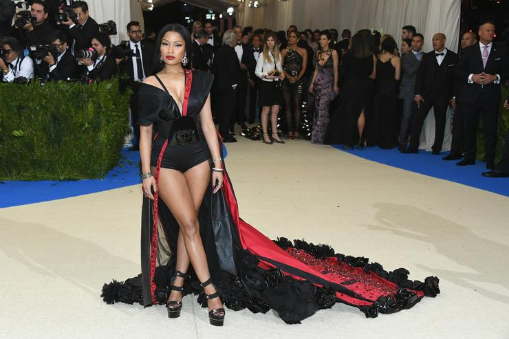 Nicki Minaj At Met Gala 2017