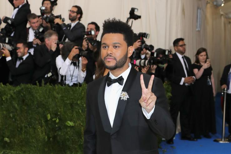 The Weeknd at the Met Gala 2017