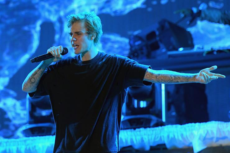 Justin Bieber New Year's Eve Celebration at Fontainebleau
