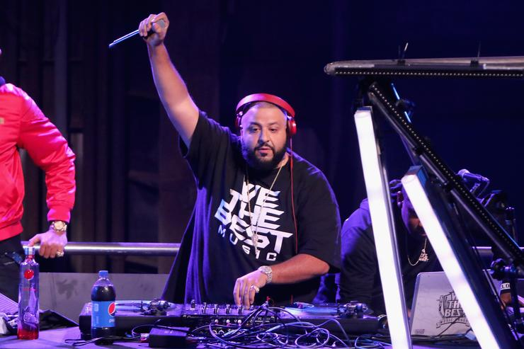 DJ Khaled The 2015 Pepsi Rookie Of The Year Award Ceremony And Pharrell Concert At Pepsi Super Friday Night At Pier 70 In San Francisco