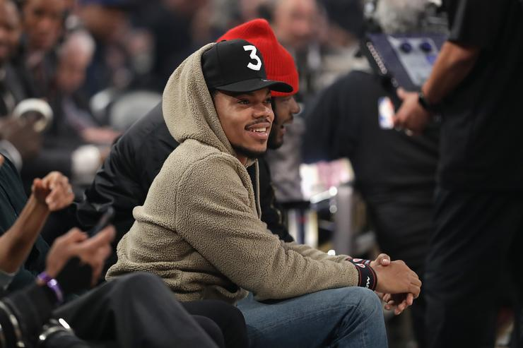 Chance the Rapper Verizon Slam Dunk Contest 2017