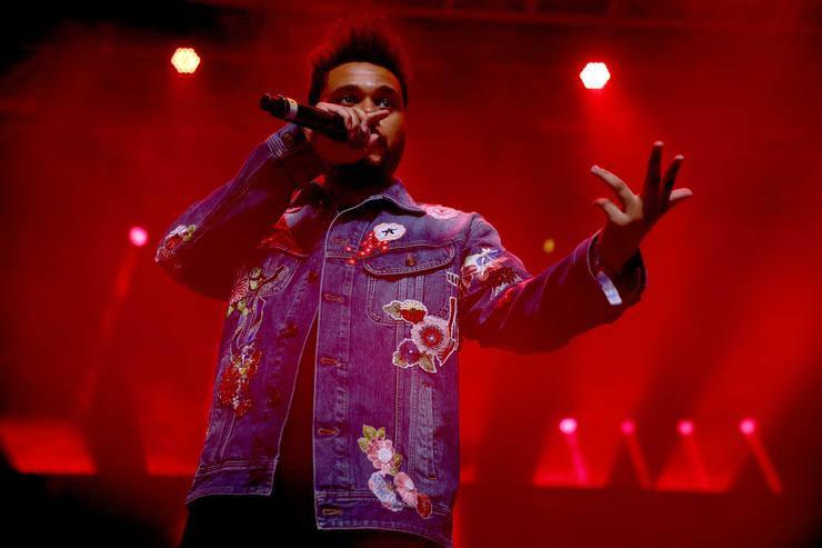 The Weeknd Coachella 2017