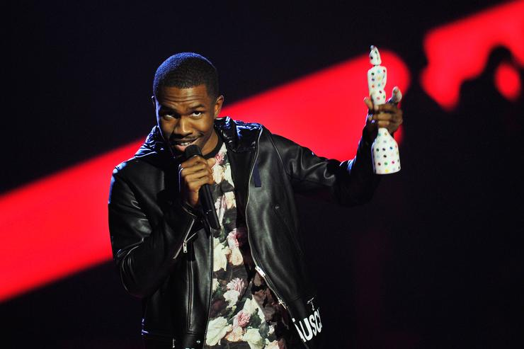 Frank Ocean Brit Awards 2013 - Show