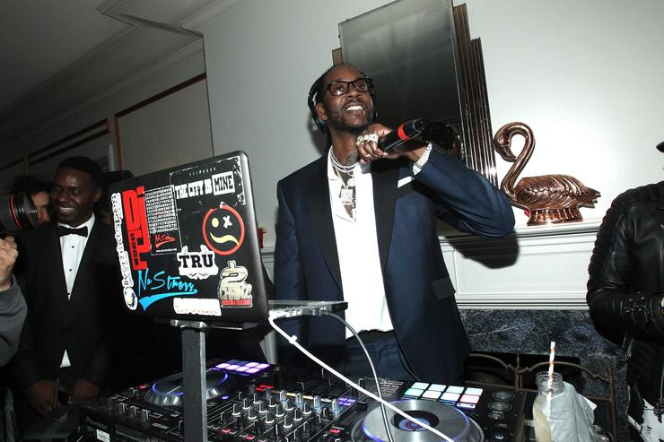 2 Chainz Def Jam Toasts The Grammys at the Private Residence of Jonas Tahlin, CEO Absolut Elyx