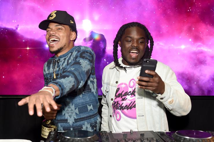 Chance GQ and Chance The Rapper Celebrate the Grammys in Partnership with YouTube