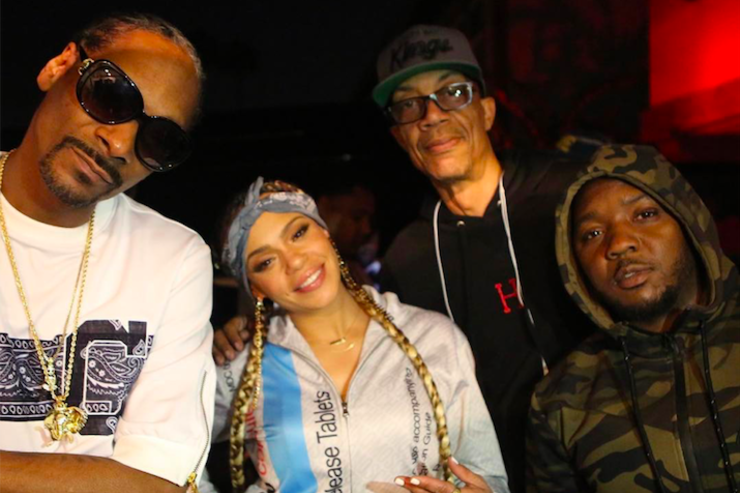 Snoop Dogg, Faith Evans, Lil Cease & DJ Pooh