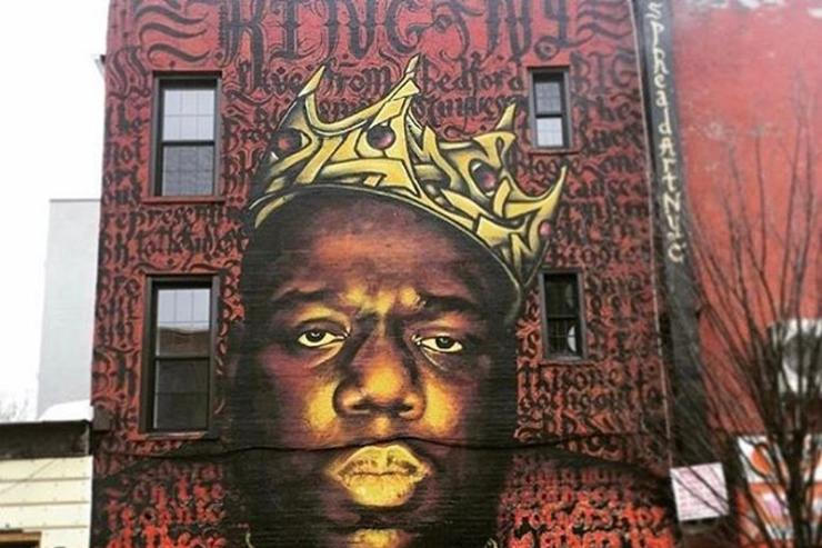 """King of Ny"" Mural in Brooklyn"