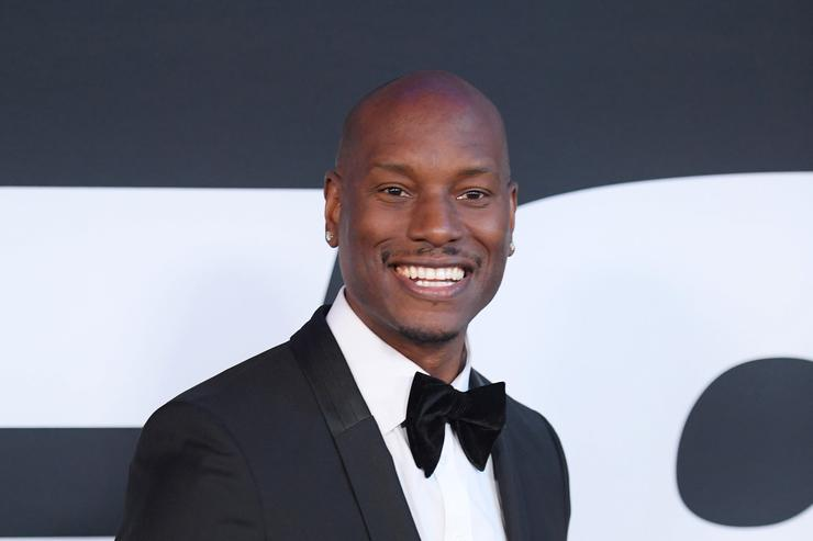 Tyrese at fast & furious movie premiere