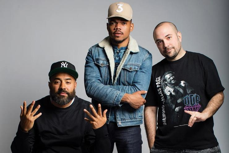 Chance The Rapper, Ebro & Peter Rosenberg