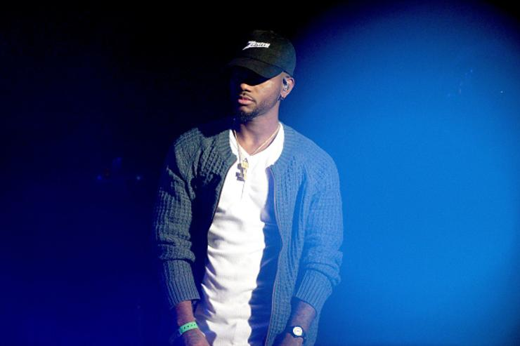 Bryson TIller performing at The Real Show.