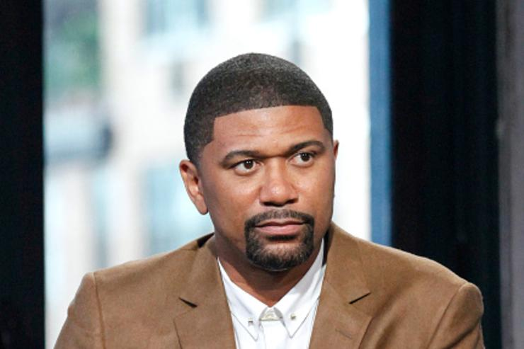 Jalen Rose at AOL event.