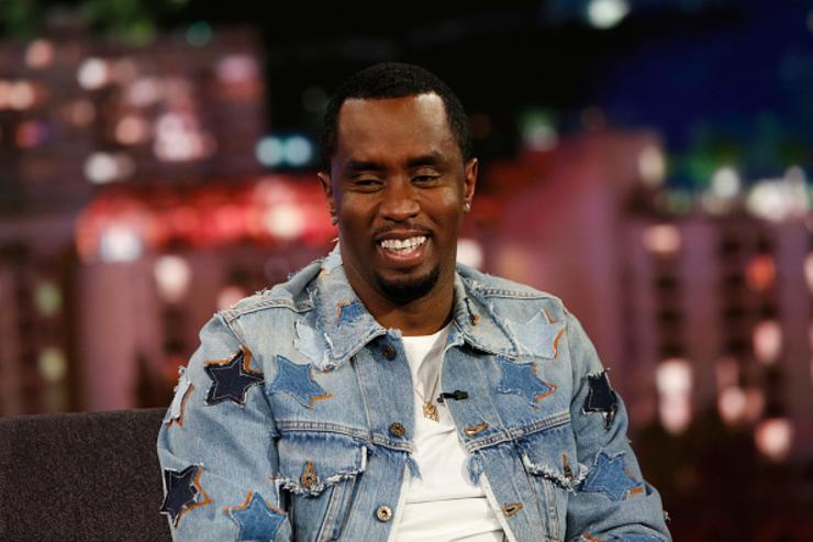 P. Diddy on Jimmy Kimmel Live.