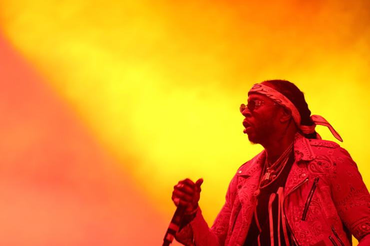 2 Chainz performing at Coachella.