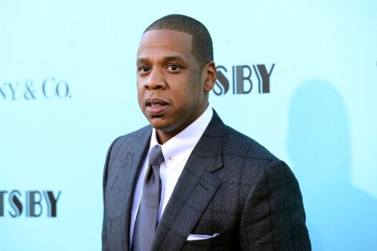 Jay-Z at Great Gatsby premiere