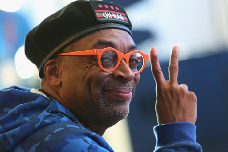 Spike Lee at 2015 TCS New York City Marathon
