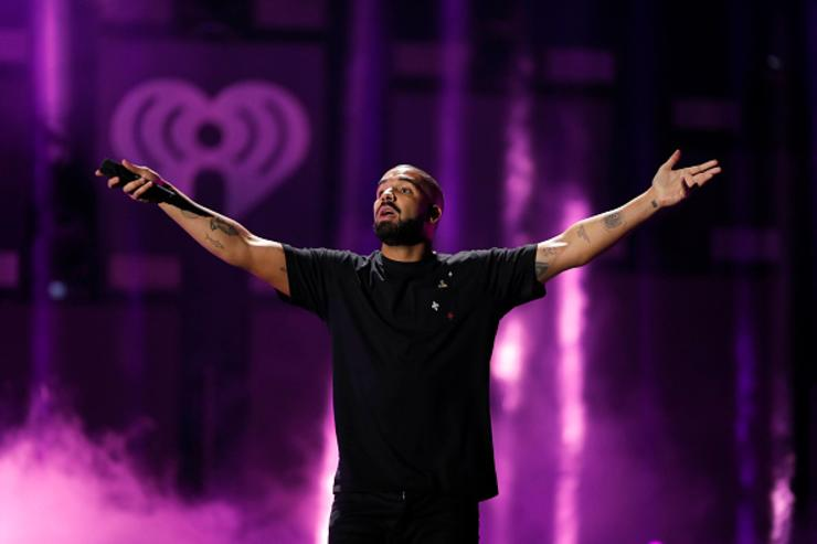 Drake at iHeartRadio Music Festival