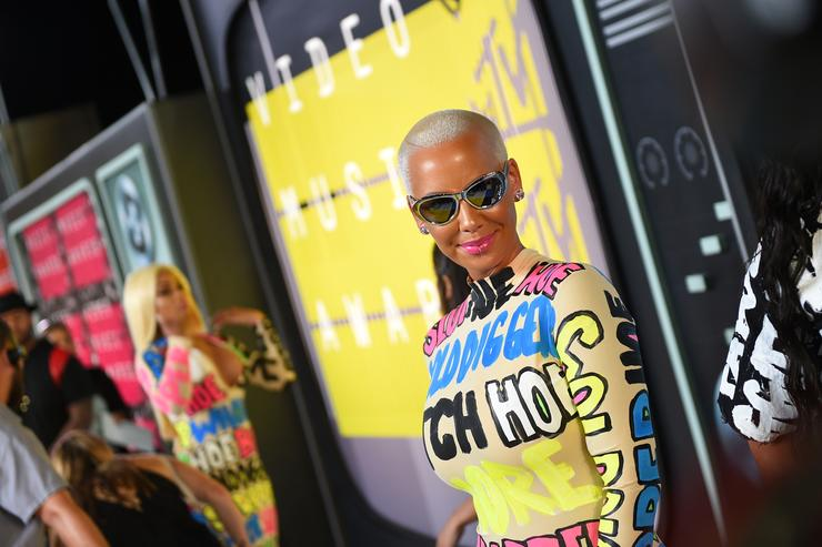 Amber Rose 2015 MTV Video Music Awards - Red Carpet