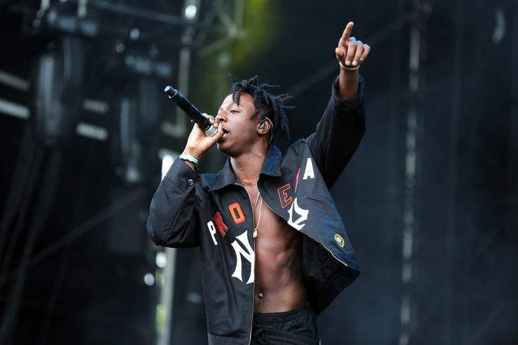 Joey Bada$$ New Look Wireless Festival - Day 1