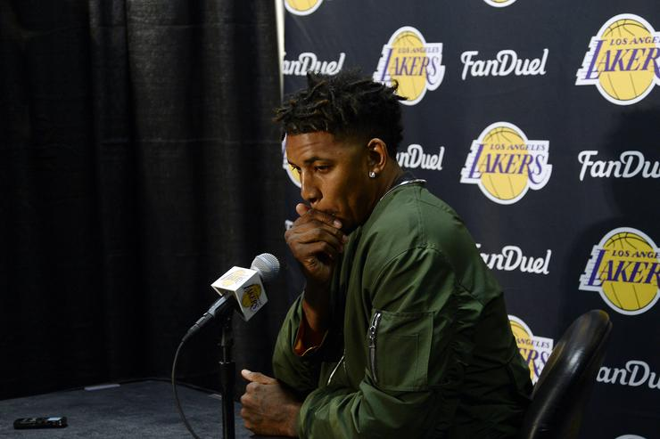 Nick Young Miami Heat v Los Angeles Lakers