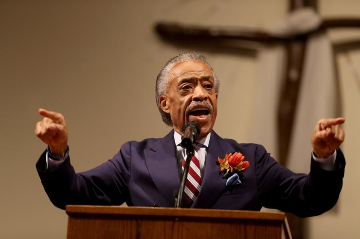 Al Sharpton Outrage In Missouri Town After Police Shooting Of 18-Yr-Old Man