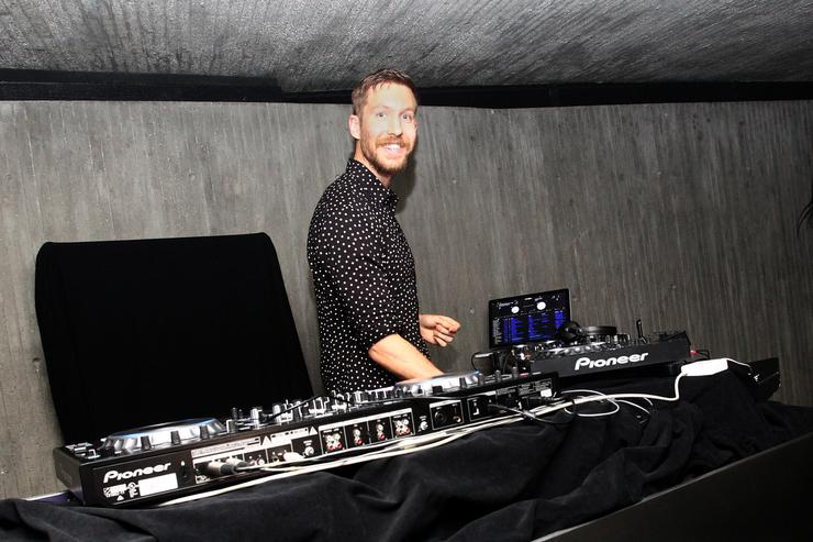Calvin Harris Album Launch Party