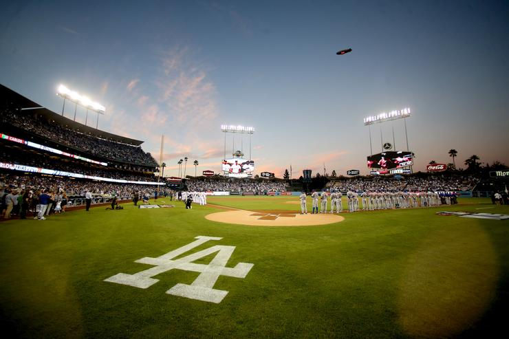 Division Series - New York Mets v Los Angeles Dodgers - Game One