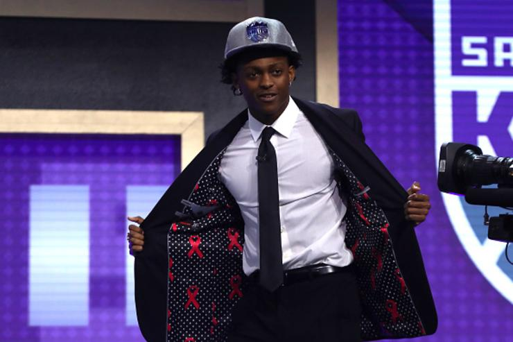 Fox after being drafted by SAC