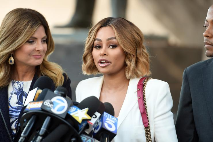 Blac Chyna & Lisa Bloom