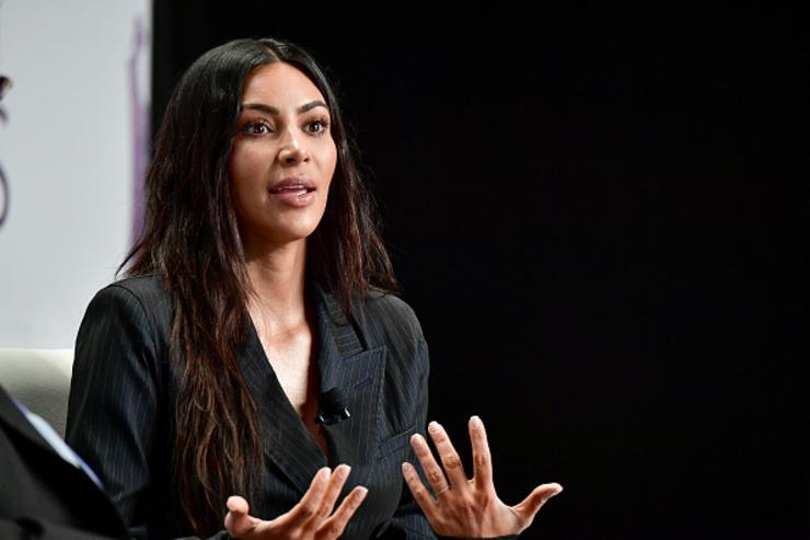Kim K at Forbes Women's Summit