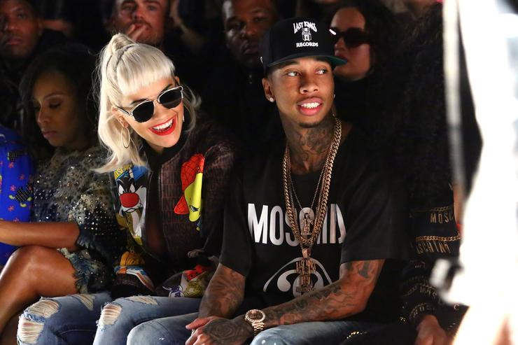 Tyga Kagome Greens At Jeremy Scott
