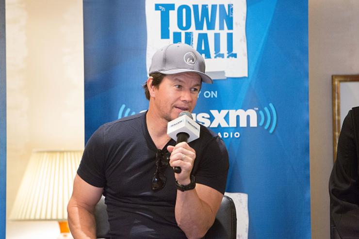 Wahlberg attends SiriusXM's 'Town Hall' With the Cast of 'Transformers: The Last Knight'