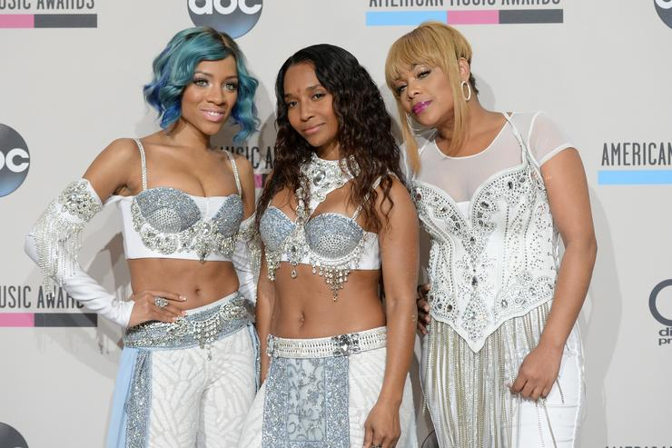 TLC 2013 American Music Awards - Press Room