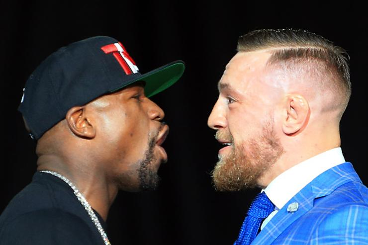 Mayweather, McGregor at Toronto presser