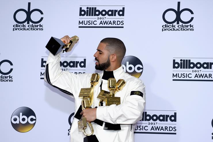 Drake 2017 Billboard Music Awards - Press Room