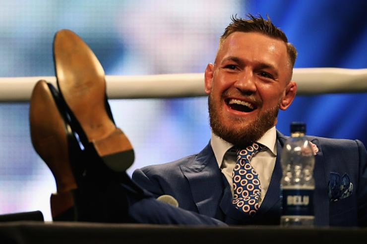 McGregor at London presser
