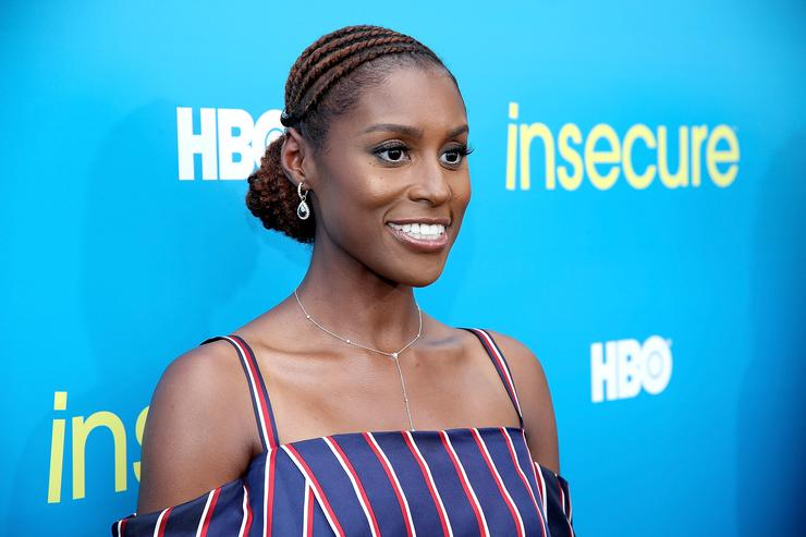 Issa Rae at an event premiere